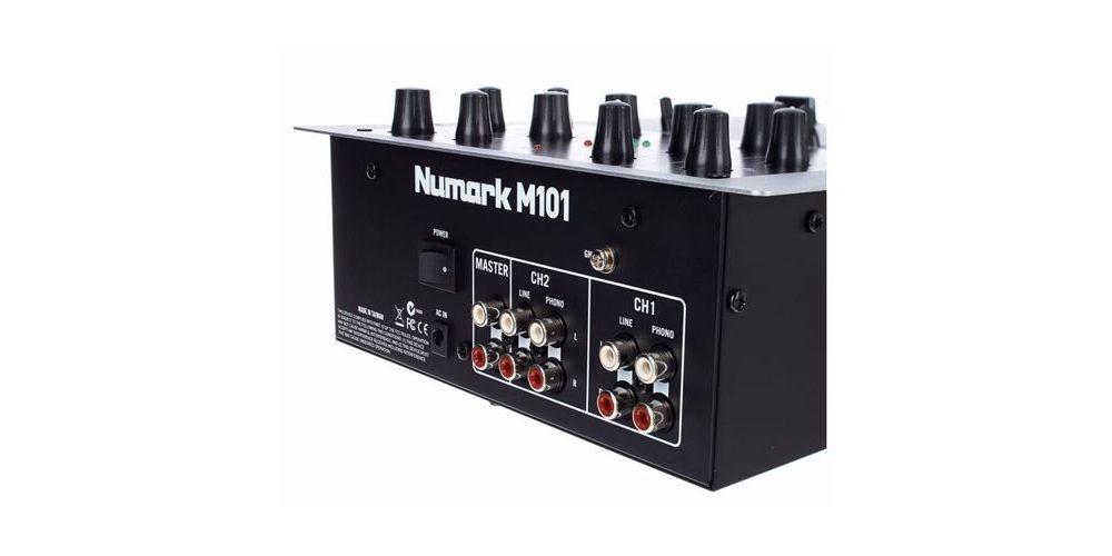 numark m101 back details