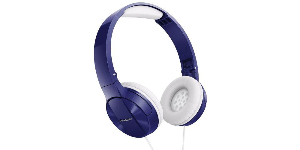 pioneer semj503 l auriculares microfono azul