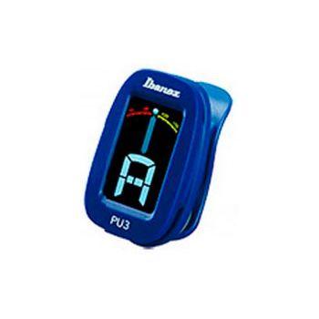 Ibanez PU3 BL Afinador cromático Azul De clip