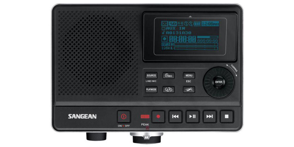 sangean dar101 grabadora digital dictafono