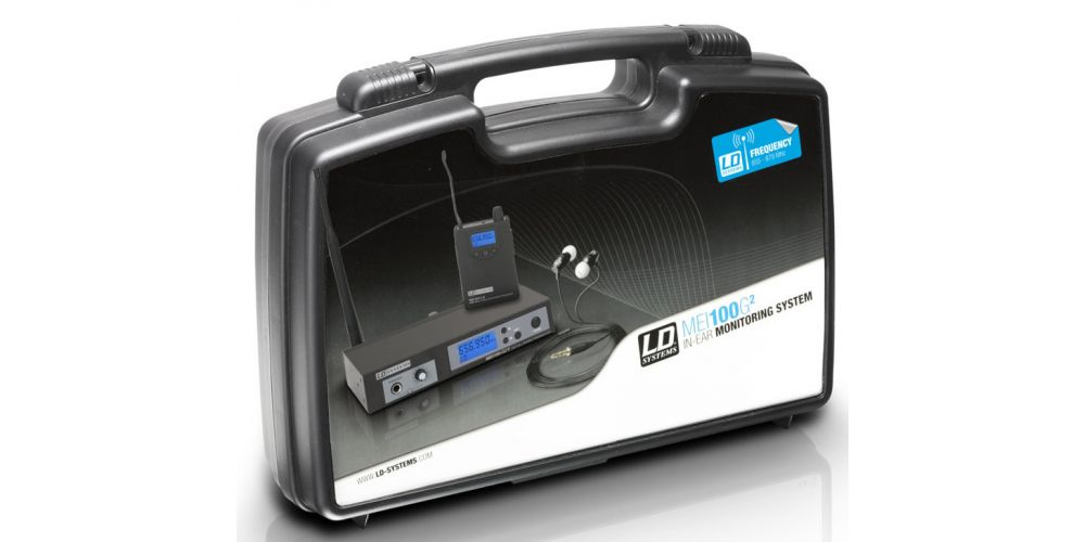 LD Systems MEI 100 G2 B 6 Sistema de Monitoraje inalámbrico
