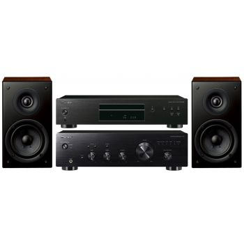 Pioneer A-10-K+ Compact Disc PD-10-K + Altavoces S-CN301