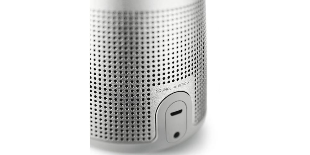 bose soundlink revolve grey bluetooth speaker