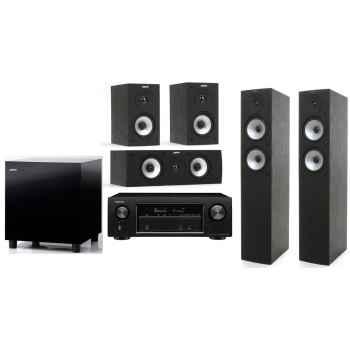 DENON AVR-X1300 BK+Jamo S526HSC-BK+SUB210