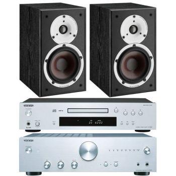 Onkyo A9010S+C7030S+Dali Spektor 1Bk, Conjunto Audio
