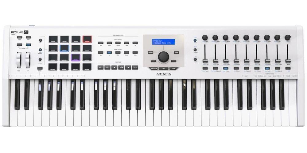 keylab 61 mk2 blanco