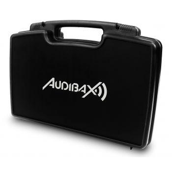 Audibax Sidney 1250 A Micrófono Doble Mano Profesional UHF Frecuencia A + Maleta ( REACONDICIONADO )