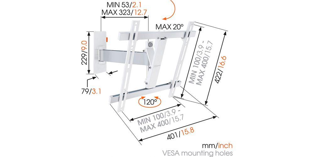 comprar wall 2225 vogels soporte tv