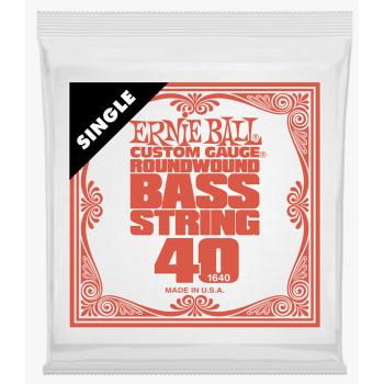 Ernie Ball 1640 Slinky Entorchado Redondo Cuerda Para Bajo 040