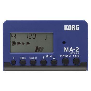 Korg MA-2 BLBK Metrónomo Digital con pantalla LCD