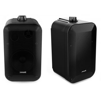 Audibax Orion 5 Black Pareja Altavoces Pasivos 70w Pared 5 Pulgadas