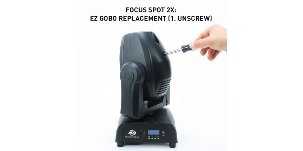 adj focus spot2x gobo1