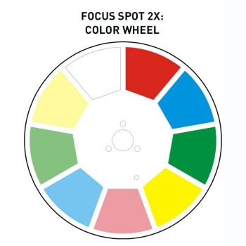 American Dj Focus Spot 2X Cabeza Móvil