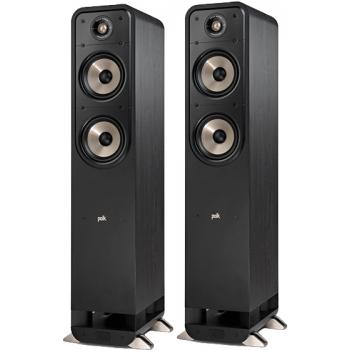 Polk audio S55E BK Pareja Altavoces HiFi Suelo