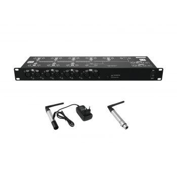 Eurolite Set DMX Split 8X Splitter + Transmitter + Receiver