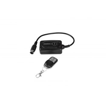 Eurolite WRC-8 Wireless Control Remoto con Receptor Inalámbrico para Máquina Confetti