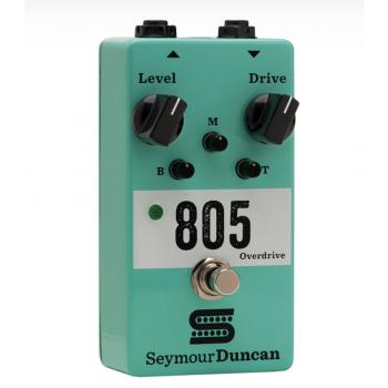 Seymour Duncan 805 Overdrive Pedal de Distorsión