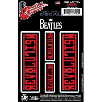 Planet Waves Stickers para Guitarra Beatles Revolution