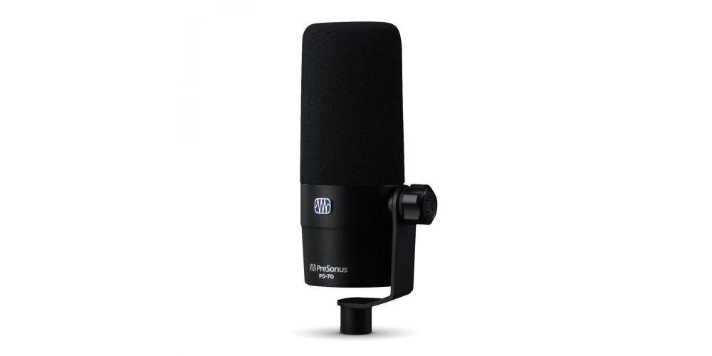 presonus pd 70 microfono podcast radio