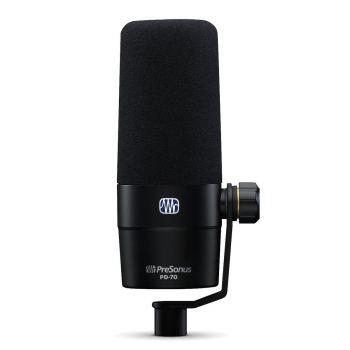 Presonus PD-70 Micrófono Aplicación Estudio Podcast y Radio