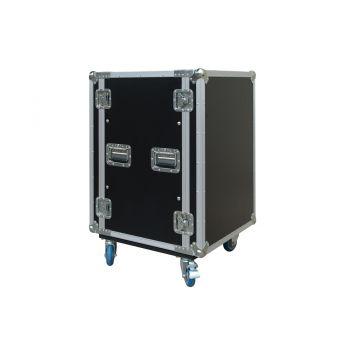 Work Pro RackTour Pro 16 R Rack con sistema antigolpes 16 unidades. Ruedas