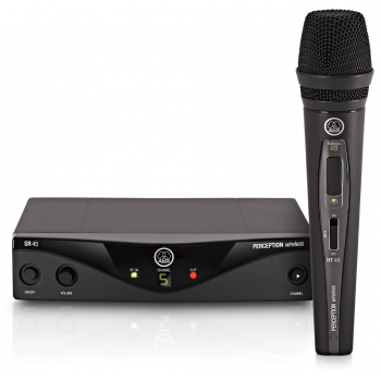AKG WMS-45 HT Vocal Microfono Inalambrico Mano Banda A