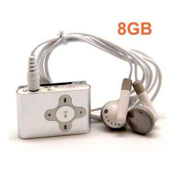 UNOTEC MP3 CLIP Memoria 8GB