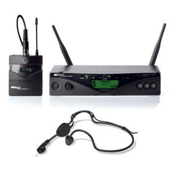 AKG WMS-470 SPORT BD8 Microfono Inalambrico  , SR470 + PT470 + C555L