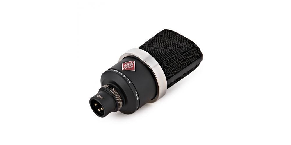 neumann tlm102 negro microfono studio conexion