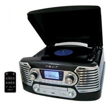 NEVIR NVR-801 VMUC Tocadiscos Retro ( Pasar Discos de Vinilo a MP3 )