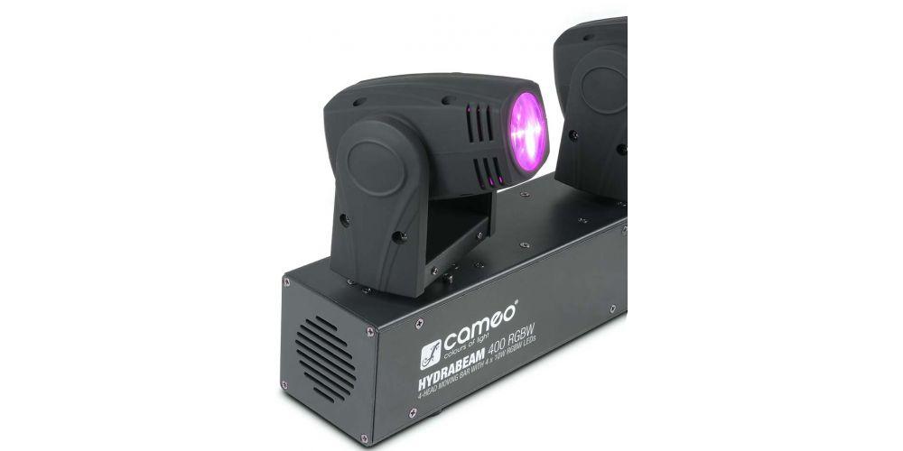 CAMEO CLHB400RGBW Barra 4 cabezas móviles ultrarrápidas de LEDs RGBW