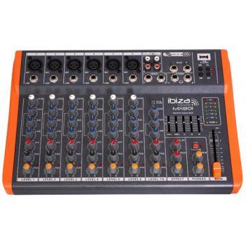Ibiza Sound MX 801 Mesa de directo