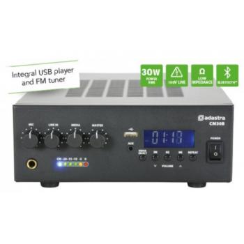 ADASTRA CM30B Amplificador Línea 100V