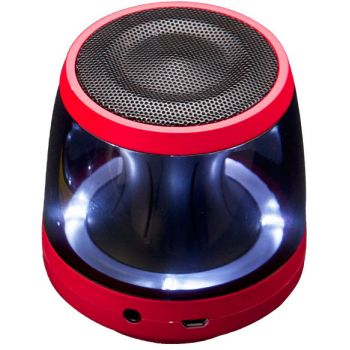 LG PH1R Rojo Altavoz Bluetooth Omnidireccional 360º