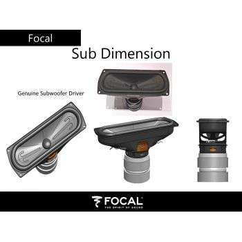Focal Dimension subwoofeer altavoces