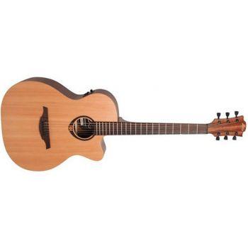 LAG T70ACE Guitarra Electro-Acustica Auditorium Cutaway