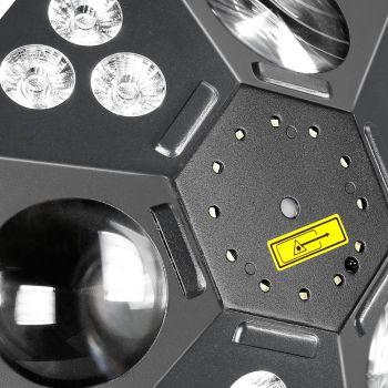 Cameo UVO Foco de efectos LED 5 en 1