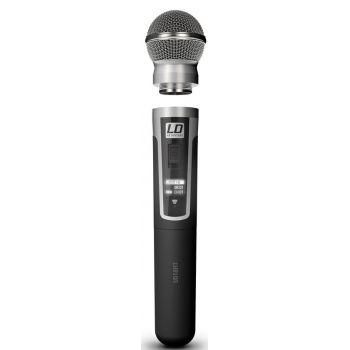 Ld systems U518 HHD 2 Sistema inalámbrico con 2 Micrófonos de Mano dinámicos