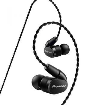 PIONEER SE-CH5BL-K Auriculares internos Balanceados Negro