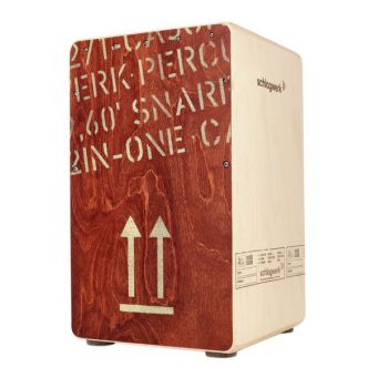 Schlagwerk CP 404 RED 2inOne Snare Cajon Red Edition