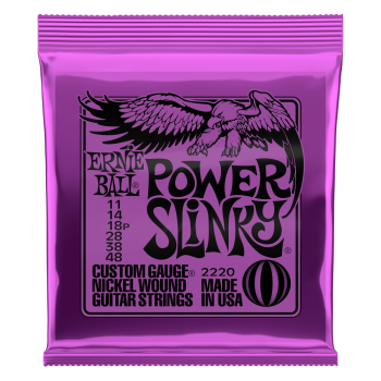 Ernie Ball 2220 Set Guitarra Electrica SLINKY PURPLE 11-48
