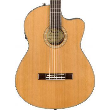 Fender CN-140SCE Natural con Estuche Guitarra Electro Acústica