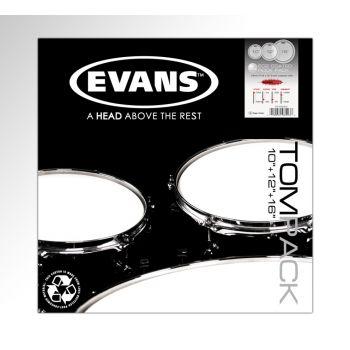 Evans Pack EC2S Coated Rock 10, 12 y 16 ETPEC2SCTDR