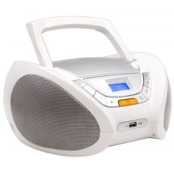 Lauson CP450 Radio CD USB  Bluetooth Blanco