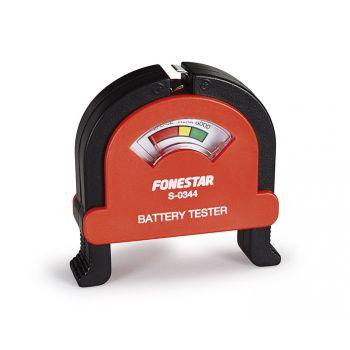 Fonestar S-0344 Comprobador de pilas