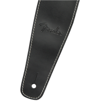 Fender Broken-In Leather Strap Black 2.5