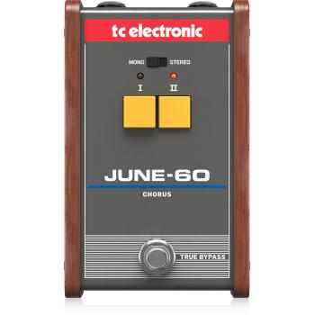 TC Electronic JUNE-60 Chorus. Pedal Efectos Chorus