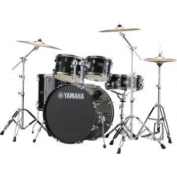 Yamaha RDP0F5 CP SET Rydeen Black Glitter Con Platos Paiste