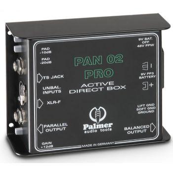 Palmer Palmer Pan 02 Pro Caja De Inyección Directa Activa