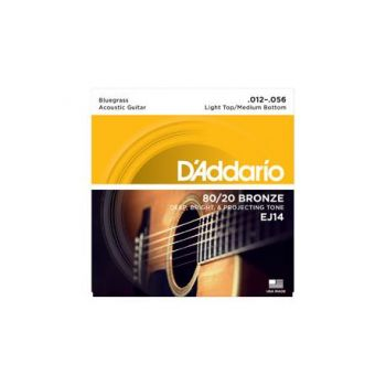 D´addario EJ14 Juego de cuerdas para guitarra acústica